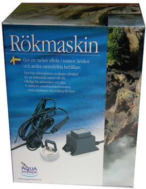 RÖKMASKIN, 1 UTBLÅS & LED